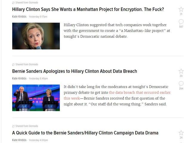 Gawker: Politics, Powered by Gizmodo
