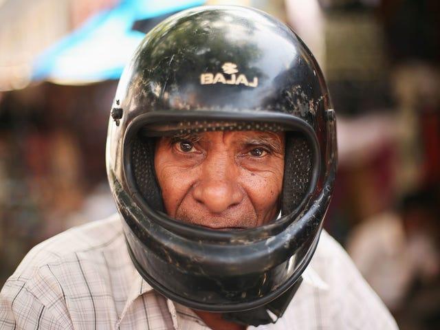 Michigan dejó de exigir que los cascos de motocicleta y las lesiones aumentaran, Duh