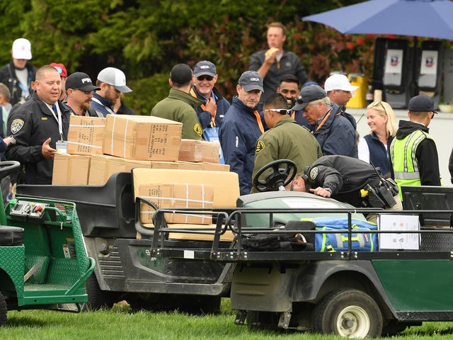 Runaway Golf Cart At Pebble Beach Crashes Into Crowd, Hospitalizes Two U.S. Open Spectators
