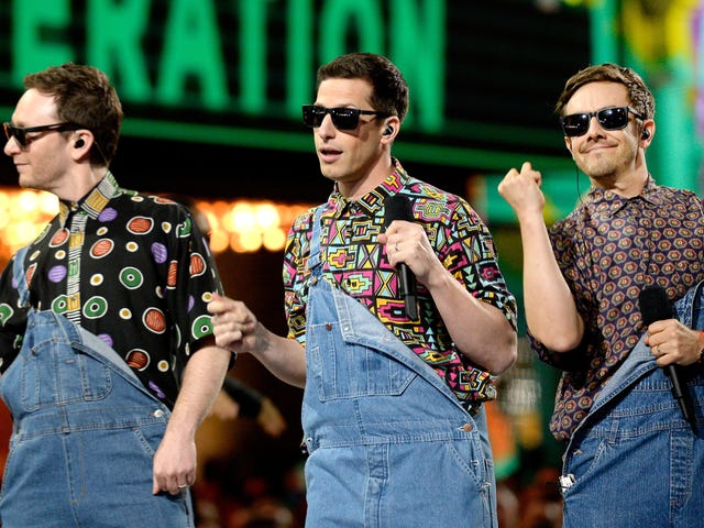 """Surprise, nerds: The Lonely Island is dropping a """"visual poem"""" on Netflix tonight"""