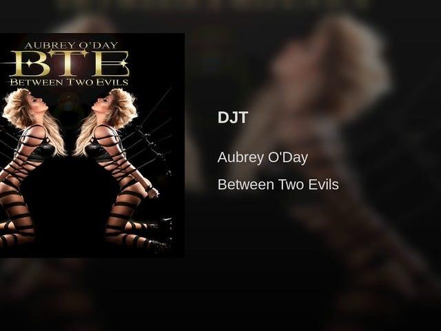 Aubrey O'Day đã viết một bài hát về Don Trump Jr.?