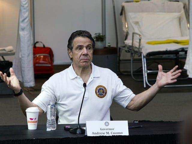 Il Governatore Cuomo sta prendendo consigli da Jeff Wilpon. Cosa, A-Rod non era disponibile?