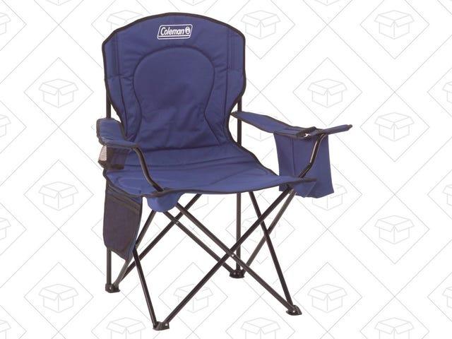 Возьмите сиденье на стуле Coleman за 16 долларов США, в комплекте с подлокотником