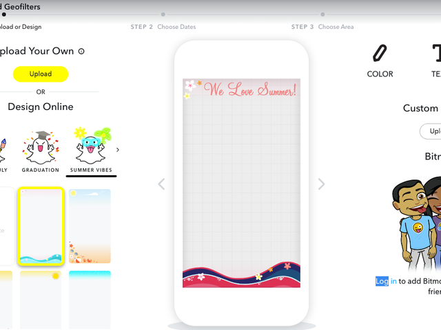 How to Design Your Own Custom Snapchat Geofilters Directly From Your Phone