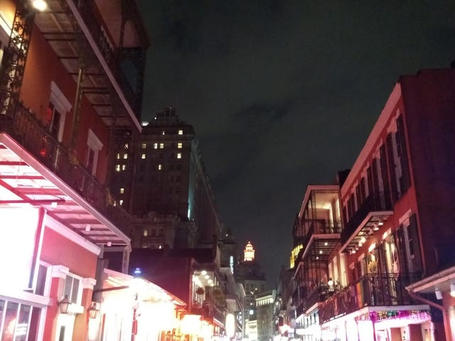 This just in, Bourbon street = terrible
