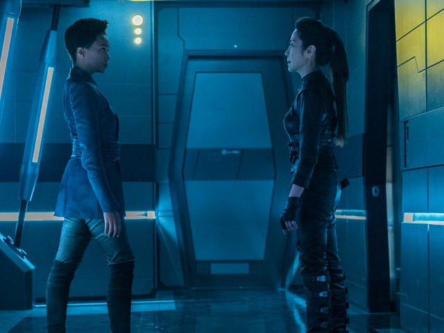 Burnham heads home for an awkward family reunion on Star Trek: Discovery