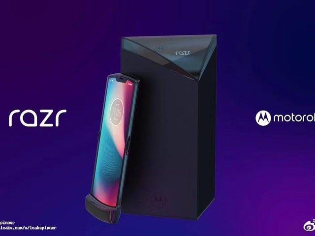 Se filtra el aspecto definitivo del nuevo Motorola Razr con pantalla flexible, y es realmente bonito