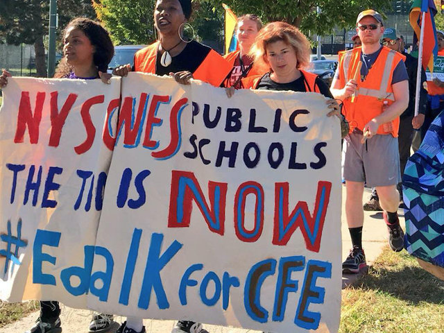 Nationwide School 'Walk-ins' Organized to Demand Educational Justice for Black and Brown Communities