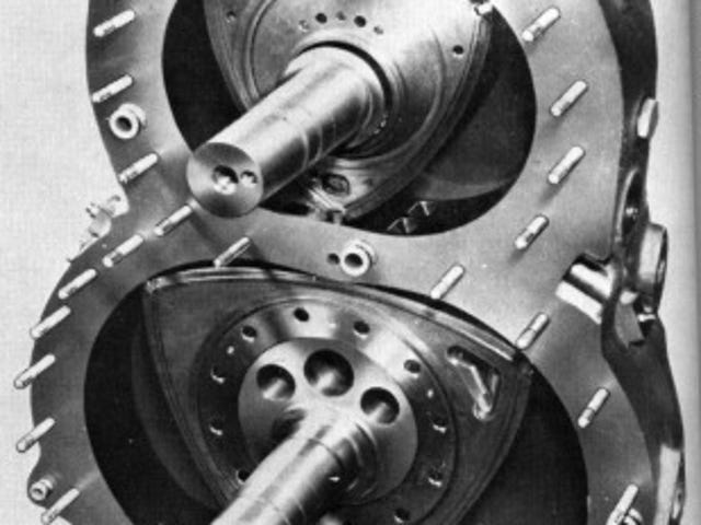 Dos rotores diesel ...