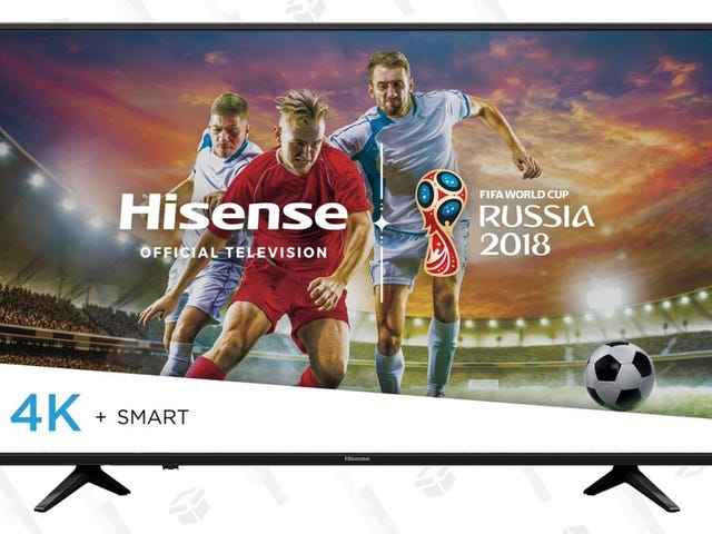"""Upgrade to an HDR-Ready, 55"""" 4K TV For Just $320"""