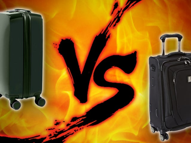 """Βαλίτσα αναμέτρησης: """"Smart"""" Αποσκευές vs Standard Carry-Ons"""