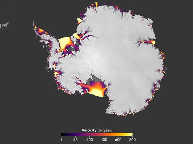 New Maps Show Us Where Antarctica Is Shrinking Fastest