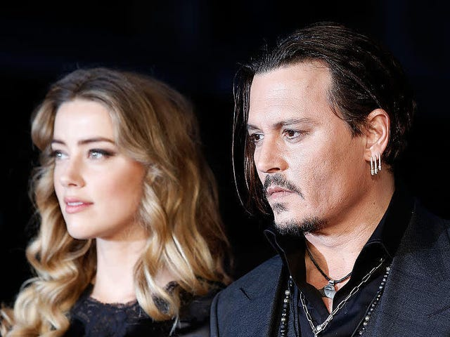 Johnny Depp, Accused of Domestic Abuse, Claims Amber Heard 'Painted On' Her Bruises