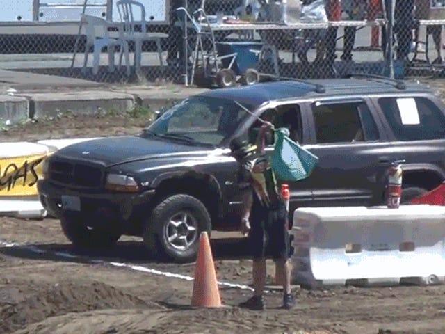 Ikaw ay Makakagulat Sa pamamagitan ng Paano Ito Dodge Durango humahawak ng isang Off-Road Course