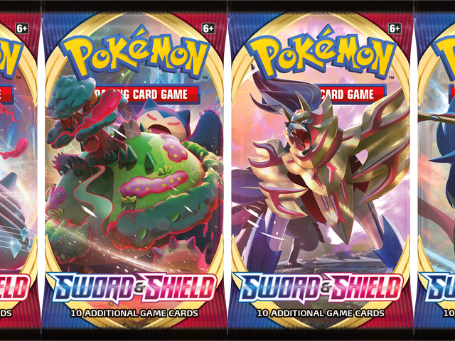 The Pokémon Trading Card Game enters the Sword and Shield era today with the release of the first ex