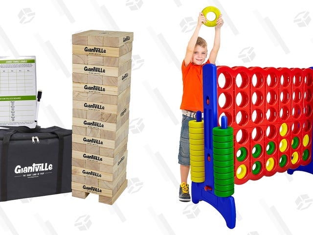 Supersize the Summer Fun With Big Discounts on Giant Outdoor Games