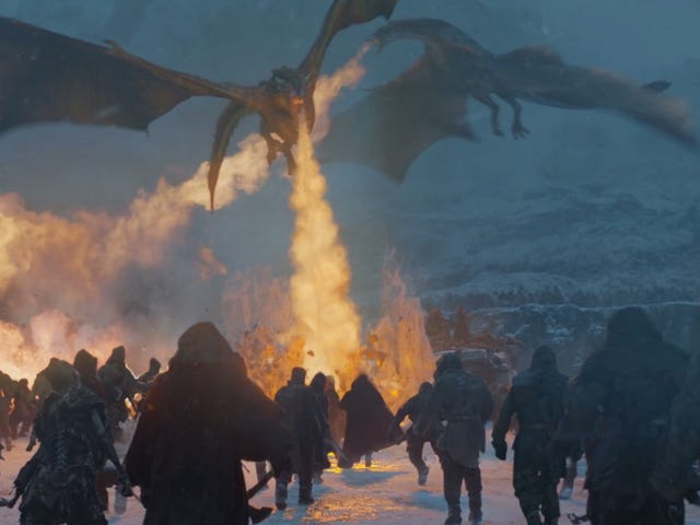 <i>Game Of Thrones </i>Finally Pits Ice Against Fire