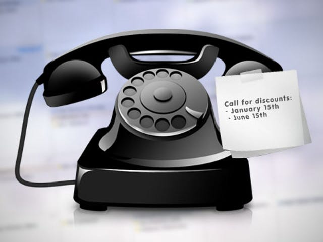 How a Regularly Scheduled Phone Call and a Little Research Can Reduce Your Monthly Bills Twice a Year