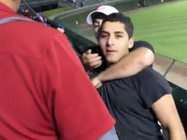 Sloppy Wrigley Bleacher Fight Features One Heroic Peacekeeper And One Racist Bro