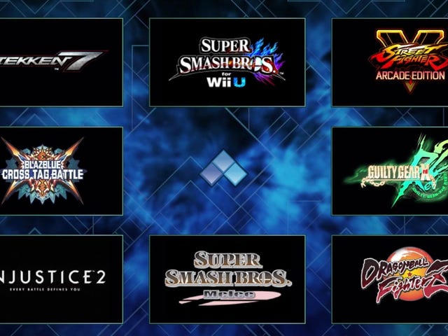Here Is The Evo 2018 Lineup