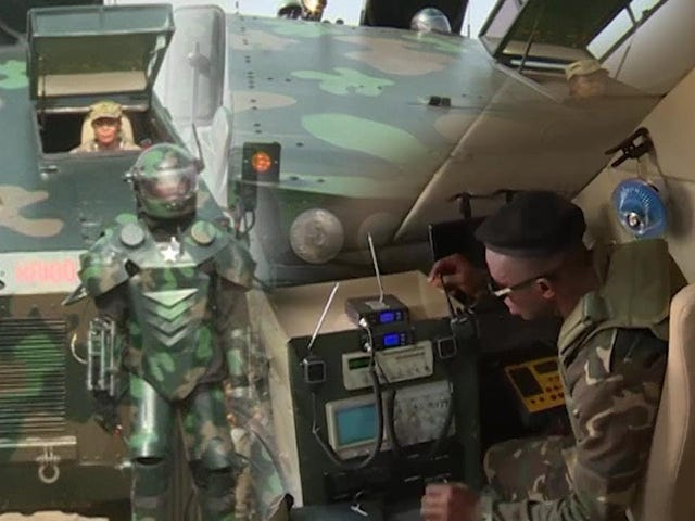 Ghana's Super Soldier program is already up and running. Suck it USA