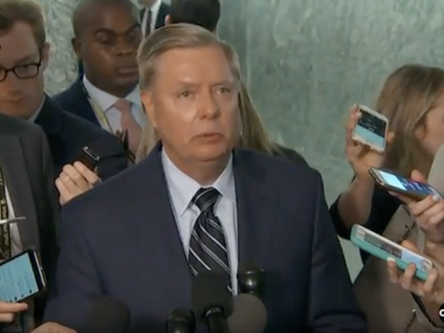 Lindsey Graham Is Scared Shitless