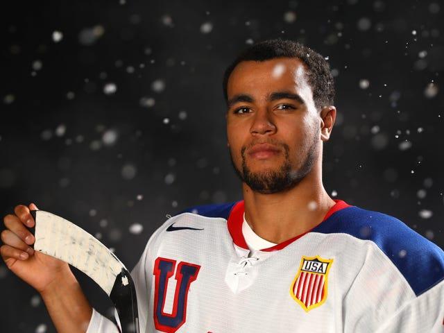 1st-Ever Black Hockey Player untuk Team USA Hit the Ice untuk Olimpiade Musim Dingin