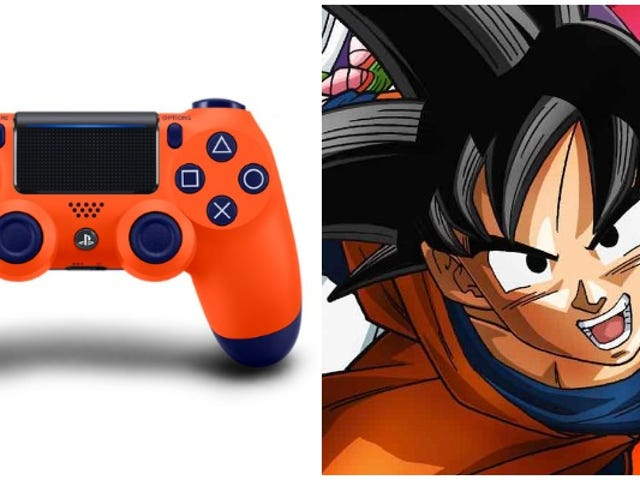 This PS4 Controller's Color Is Goku