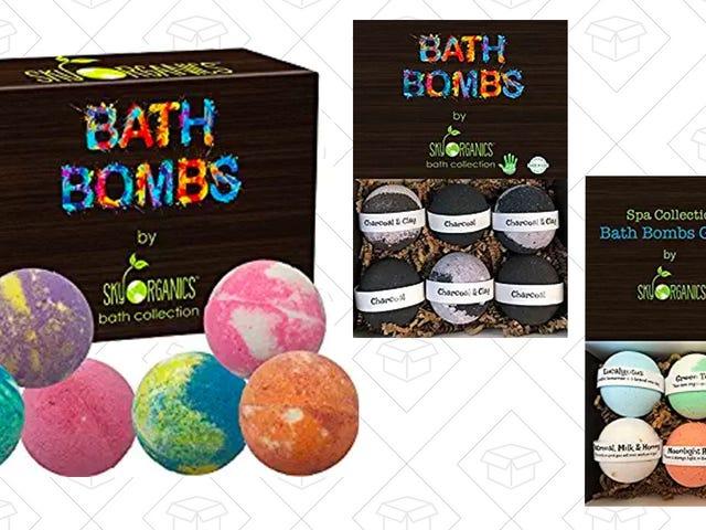 Rendam Dalam $ 5 Simpanan Pada Set Hadiah Bom Bath ini