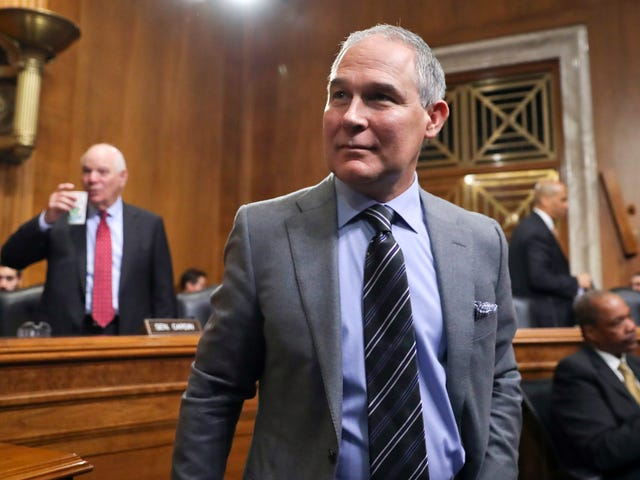 EPA Chief Scott Pruitt Says the Bible Teaches Us to 'Harvest' 'Natural Resources' Like Gas, Oil and Coal