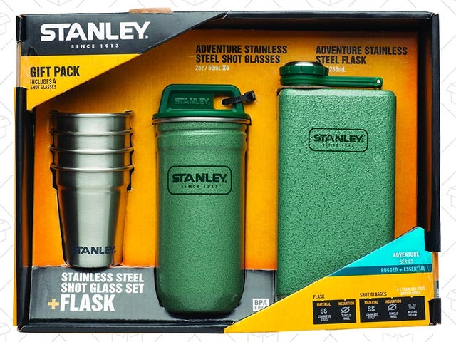 Pack Up This $22 Stanley Adventure Flask Set For Your Next Camping Trip