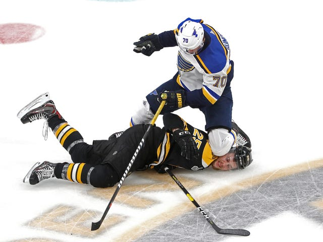 One Sequence Choked The Life Out Of The Bruins