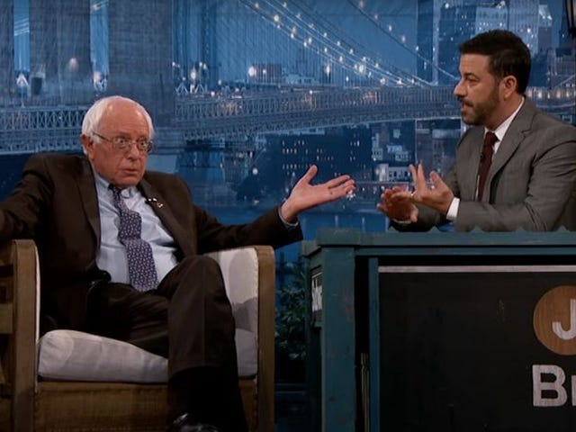 "<a href=https://news.avclub.com/kimmel-to-interview-bernie-sanders-tomorrow-hillary-cl-1798245454&xid=17259,15700021,15700043,15700186,15700191,15700256,15700259,15700262 data-id="""" onclick=""window.ga('send', 'event', 'Permalink page click', 'Permalink page click - post header', 'standard');"">Kimmel til at interviewe Bernie Sanders i morgen, Hillary Clinton på torsdag</a>"