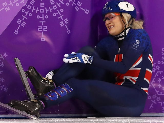 Elise Christie's Olympics Were Another Nightmare