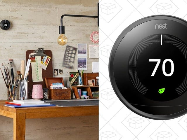 Install This Sleek Black Nest Learning Thermostat For Just $180