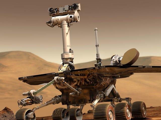 Bangun, Oppy!  NASA Menghantar Perintah Baru kepada Mars Rover Opportunity