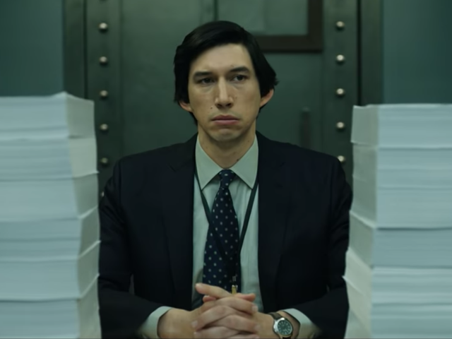 Adam Driver Season Is Now in Full Swing With The Report Trailer