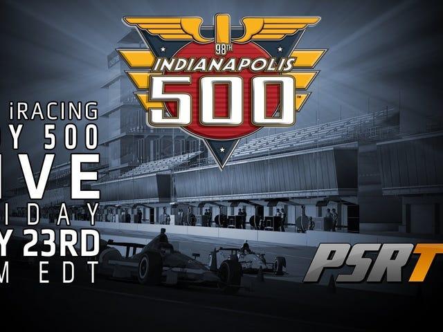 De 2015 iRacing Indy 500