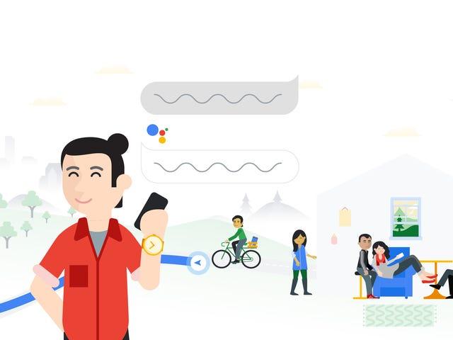 Тепер ви можете Boss Google помічник навколо в повідомленнях App і більше мов