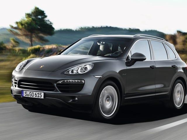 Porsche ainda irá vender-lhe um novo diesel, contanto que você comprá-lo usado
