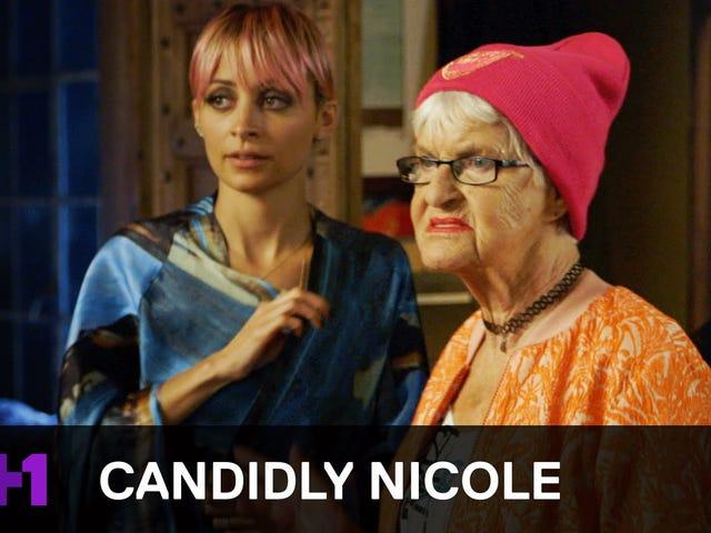 Baddie Winkle, Nicole Richie를 나쁜 녀석으로 만드는 데 도움