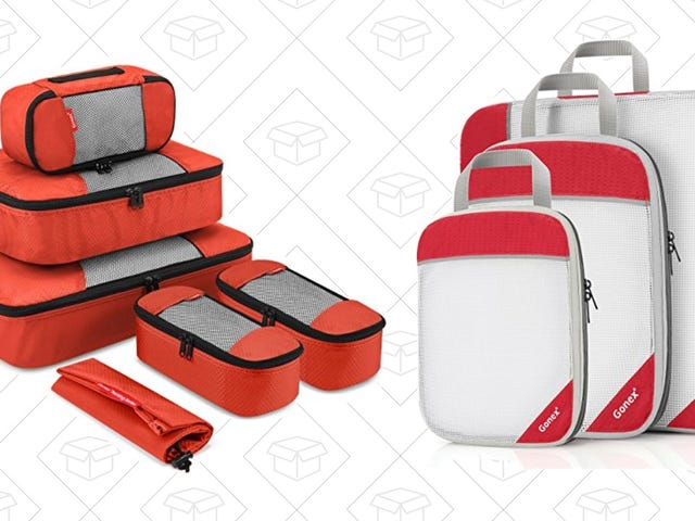 Get Your Luggage Under Control With These Two Discounted Packing Cube Sets