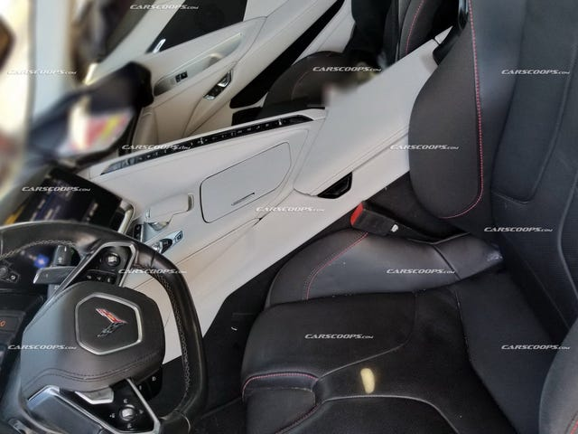 2020 Corvette C8 interior first pics