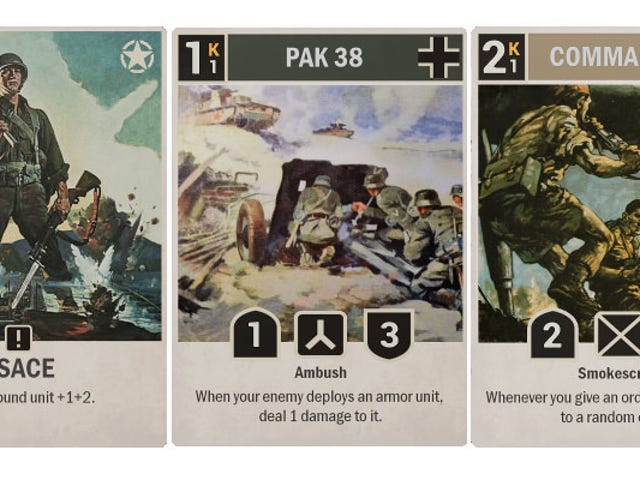 World War Two Is Now A Collectible Card Game