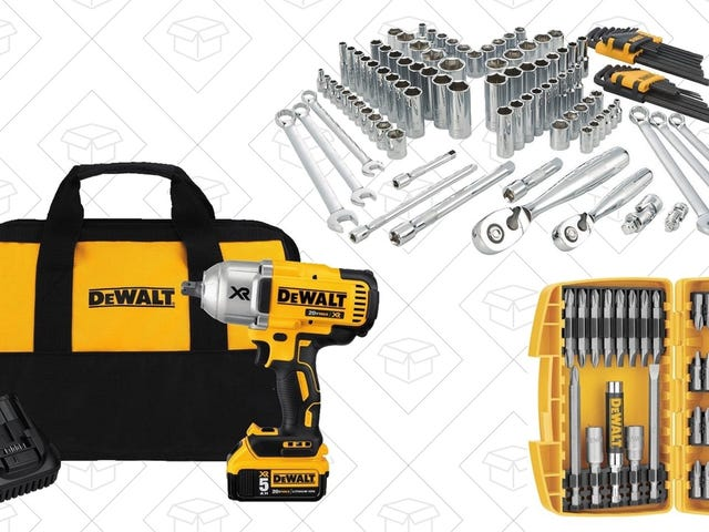 Amazon's One-Day DEWALT Sale Has Tools For Every Budget