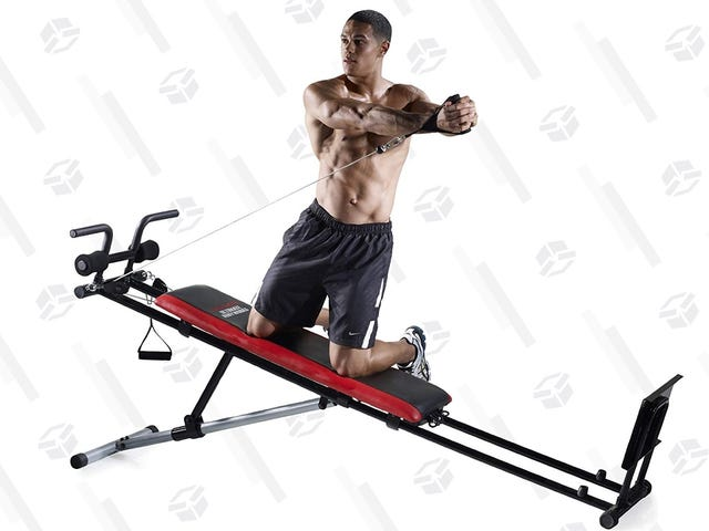 Cancel Your Gym Membership And Buy This $117 Home Gym Instead