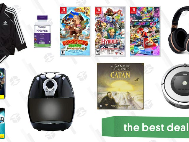 Wednesday's Best Deals: Air Fryers, Nintendo Switch Games, Melatonin Gummies, and More