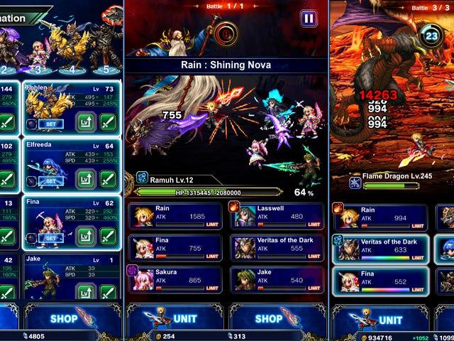 Caso o Final Fantasy Brave Exvius não tenha sido suficiente para você, Square Enix acaba de lançar Final Fantasy Brave Exvius ...