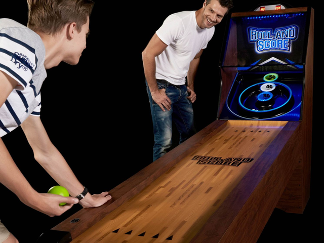 Play Skee-Ball In the Comfort of Your Own Home, No Quarters Required