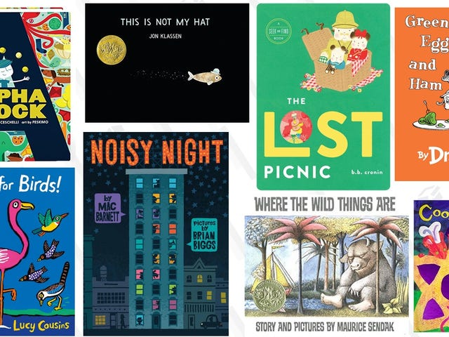 The Best Books For 2-3 Year Olds That I've Bought (So Far)